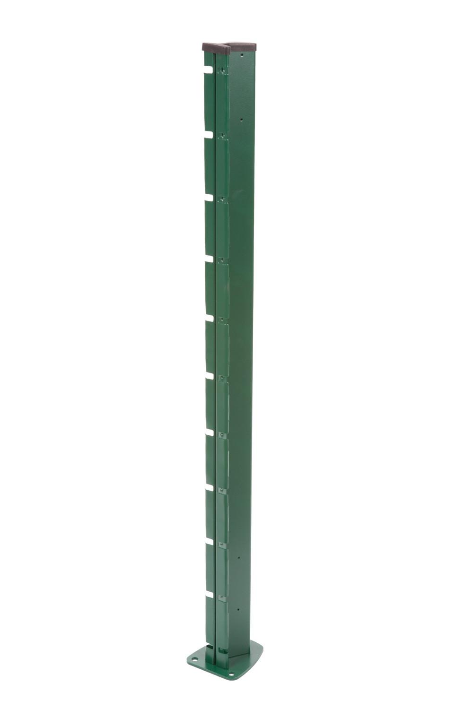 Poteau à encoches VERT - H. 2,27 m