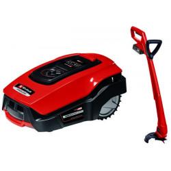 Kit d'outils de jardin FREELEXO Kit 500 - robot tondeuse + coupe-bordures - Power X-Change de marque EINHELL , référence: J5607600