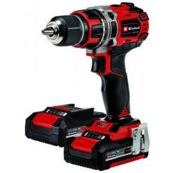 Perceuse Visseuse sans fil TE-CD 18/50 Li BL - 2 vitesses - 20 positions - 2 batteries Power X-Change 2,0Ah de marque EINHELL , référence: B5609800
