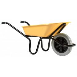 Brouette Aktiv Excellium+ 100L peinte roue increvable racing de marque HAEMMERLIN, référence: J4472700