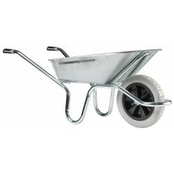 Brouette Expert 100L tout galva roue increvable Racing de marque HAEMMERLIN, référence: J4473500