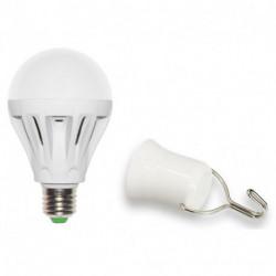 Ampoule anti-coupure LED-SMD A75 - 7W - 120° - 4 000K - 300Lm - autonomie de 6 heures de marque FOX LIGHT, référence: B5689100