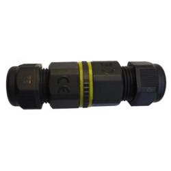 Connecteur étanche IP68 - jonction simple 3 pôles 32A-450V de marque FOX LIGHT, référence: B5690500