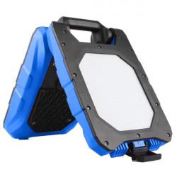 Double Projecteur Chantier PRO sur batterie 2x10W - coque renforcée PVC IK08 - 290° de marque FOX LIGHT, référence: B5691600
