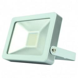 Projecteur plat SMD 20W - 1400 Lm - 4000/6500K - IP65 - Coloris BLANC de marque FOX LIGHT, référence: B5692100
