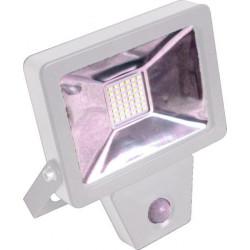 Projecteur plat SMD à détection infra-rouge 20W - 1400 Lm - 4000K - IP44 - Coloris BLANC de marque FOX LIGHT, référence: B5692400
