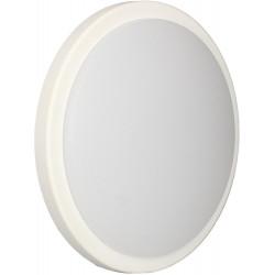 APPLIQUE MERIBEL Rond 18W/4000K/1600lm/Ø250/Blanc-Anthracite de marque Arlux Lighting, référence: B5696500