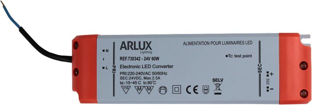 DRIVER LED PULSE 24V 60W/2,5A/pour STRIP LED PULSE jusqu'à 6m