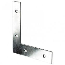 1 équerre d'assemblage plate acier zingué HETTICH, l.100 mm de marque HETTICH, référence: B5726100
