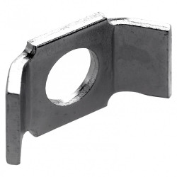 1 plaque de tension pour vis d'assemblage acier zingué HETTICH, l.20 mm de marque HETTICH, référence: B5729800