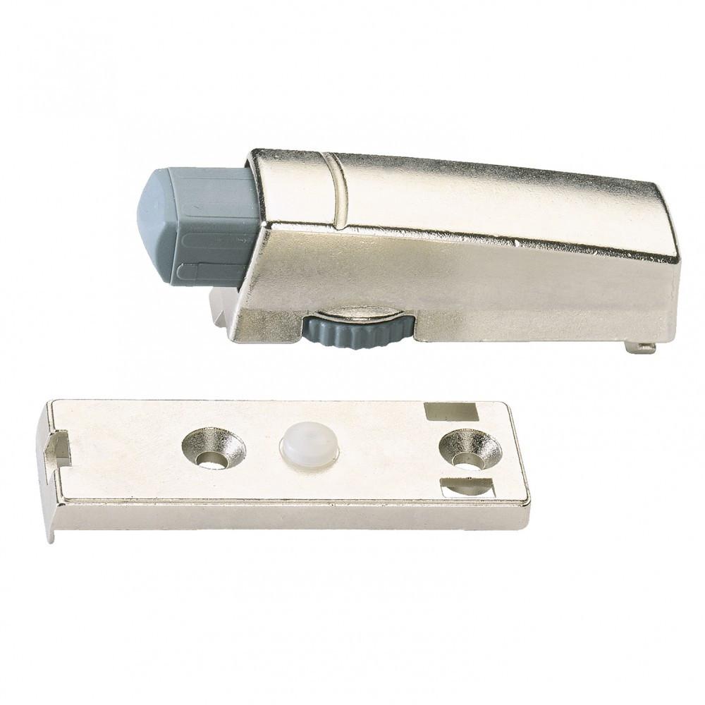 Amortisseur acier pour meuble, L.60 x l.20 mm