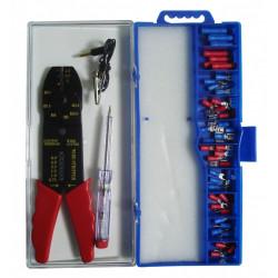 Assortiment de 50 cosses avec pince et testeur ZENITECH de marque ZENITECH, référence: B5741400