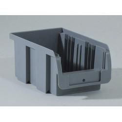 Bac à vis gris, l.10.2 x H.7.5 x P.16 cm de marque ALLIT, référence: B5741900