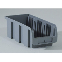 Bac à vis gris, l.10.2 x H.7.5 x P.21.5 cm de marque ALLIT, référence: B5742000