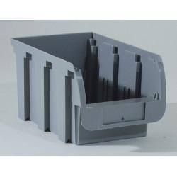 Bac à vis gris, l.14.8 x H.12.5 x P.23.5 cm de marque ALLIT, référence: B5742100
