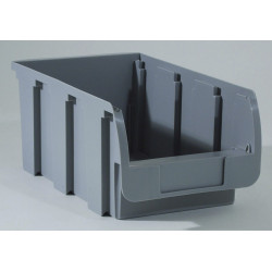 Bac à vis gris, l.20.4 x H.15 x P.35 cm de marque ALLIT, référence: B5742200