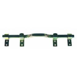 Barre de sécurité en acier zingué pour volets, L.41 cm de marque AFBAT, référence: B5746500