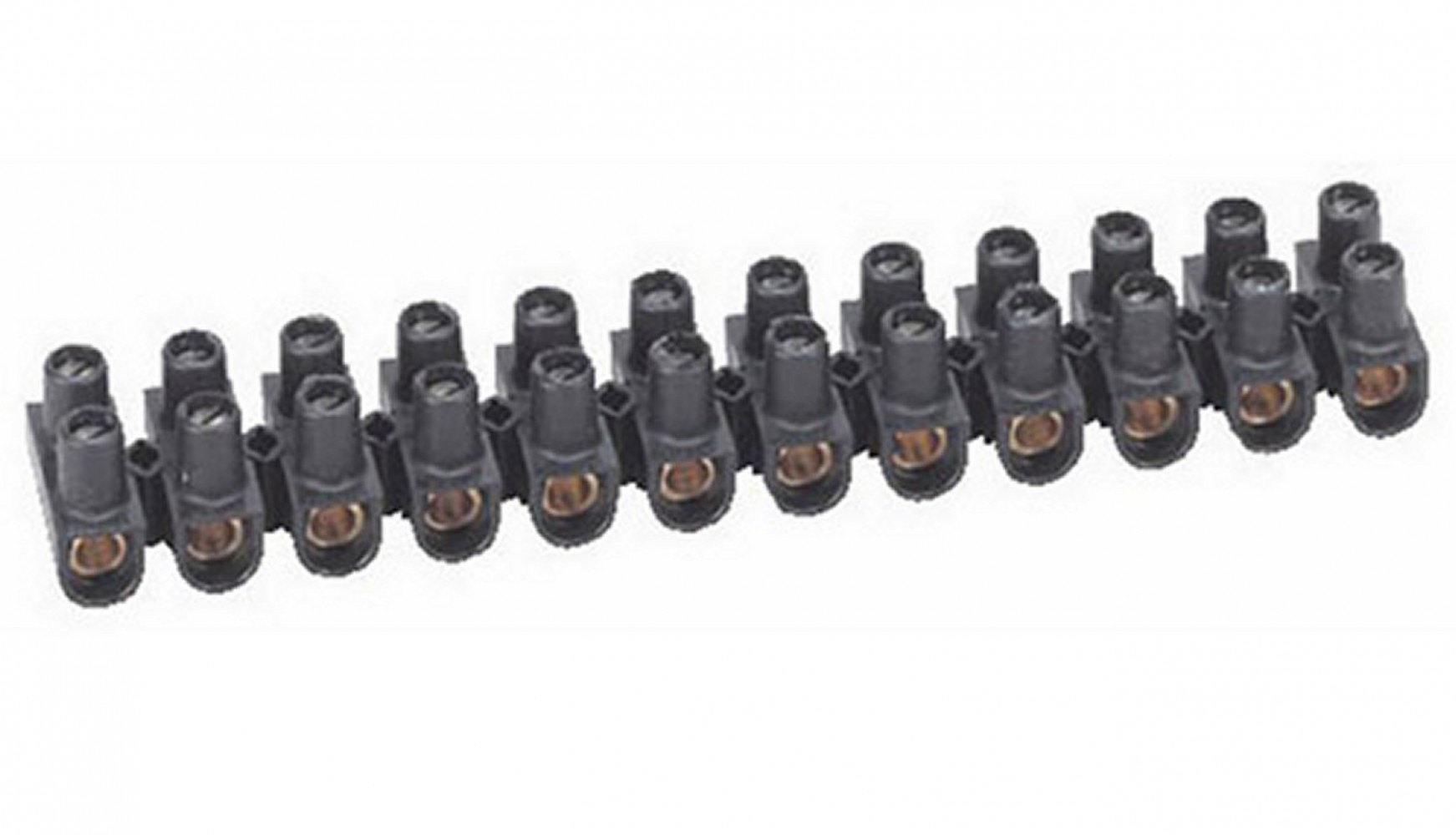 Barrette de 12 dominos électriques, 25 mm² pour rigide et souple LEGRAND