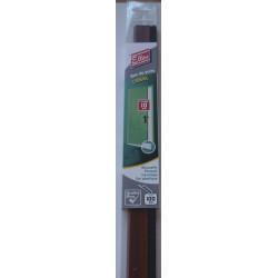 Bas de porte à visser brosse ELLEN,  L.100 cm bois brut à peindre de marque Ellen, référence: B5747600