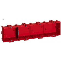 Boîte d'encastrement, cloison pleine 4 poste(s), LEGRAND de marque LEGRAND, référence: B5752400