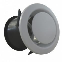 Bouche d'extraction pvc S&P, Diam.100/80 mm Ber 100 p de marque S&P, référence: B5754500