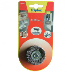 Brosse circulaire perceuse pour métal TIVOLY, Diam.50 mm de marque TIVOLY, référence: B5757000