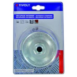 Brosse coupe meuleuse pour métal TIVOLY, Diam.90 mm de marque TIVOLY, référence: B5757400