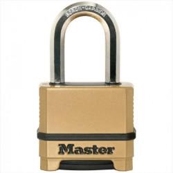 Cadenas à combinaison MASTER LOCK zinc, l.51 mm de marque MASTER LOCK, référence: B5765100