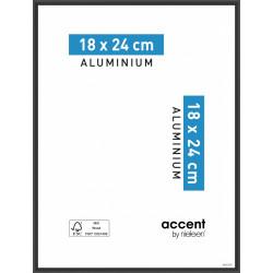 Cadre Accent, 18 x 24 cm, noir de marque NIELSEN, référence: B5765800