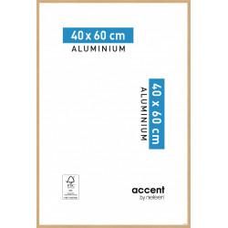 Cadre Accent, 40 x 60 cm, chêne clair de marque NIELSEN, référence: B5766300