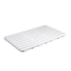 Caillebotis à poser l.80 x l.50 cm, blanc, Steppy de marque TATAY, référence: B5767800