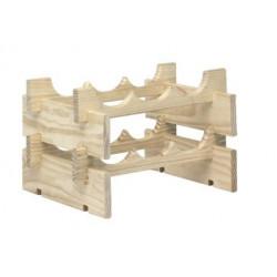 Casier 6 emplacements bois brut de marque ASTIGARRAGA, référence: B5769100