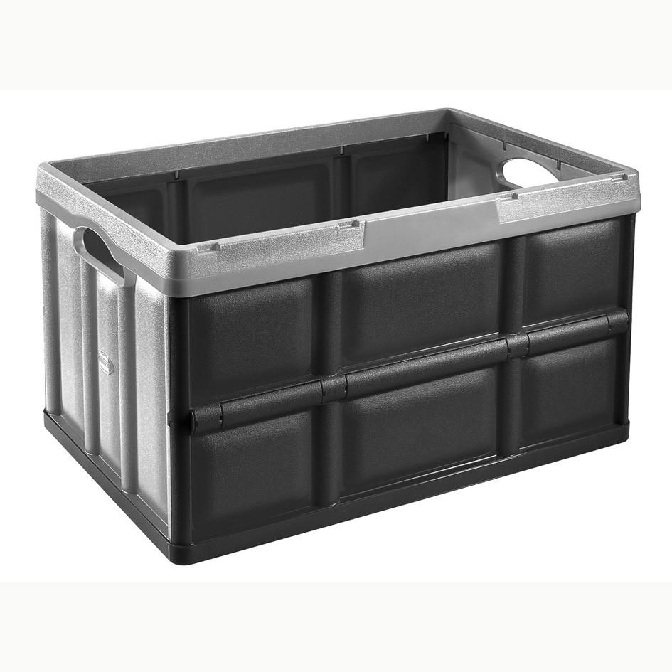 casier TONTARELLI plastique noir l.36 x P.53 x H.29.5 cm cm
