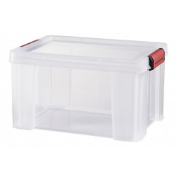 boîte SUNDIS plastique transparent l.29 x P.38 x H.22 cm cm de marque SUNDIS, référence: B5771100