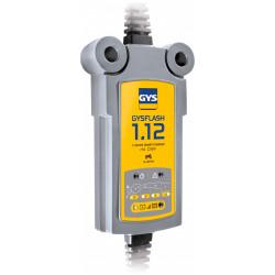 Chargeur de batterie polyvalent GYS Gysflash 1.12, 12 V de marque GYS, référence: B5775700