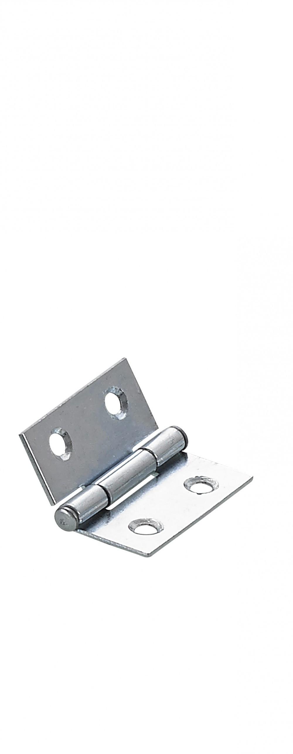 Charnière universelle acier pour lit, L.20 x l.60 mm