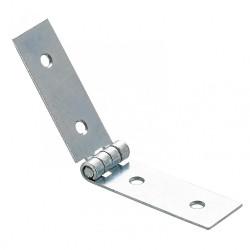 Charnière universelle acier pour lit, L.22 x l.120 mm de marque HETTICH, référence: B5778800