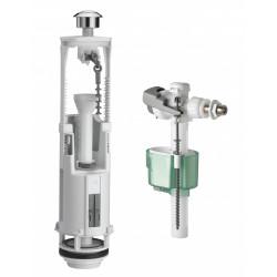 Chasse d'eau complète à étrier double poussoir Quieto, SIAMP de marque Siamp, référence: B5782100