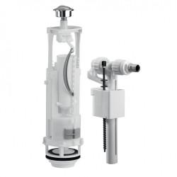 Chasse d'eau complète à étrier double poussoir SIAMP de marque Siamp, référence: B5782200
