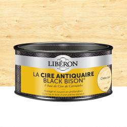 Cire en pâte meuble et objets Antiquaire black bison® LIBERON, chêne clair 0.5 l de marque LIBERON, référence: B5785200