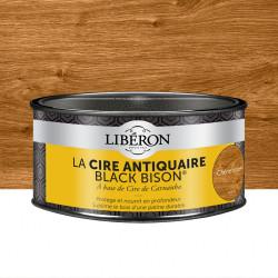 Cire en pâte meuble et objets Antiquaire black bison® LIBERON, chêne moyen 0.5 l de marque LIBERON, référence: B5785400