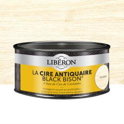 Cire en pâte meuble et objets Antiquaire black bison® LIBERON, incolore 0.5 l de marque LIBERON, référence: B5785500
