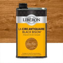 Cire liquide meuble et objets Antiquaire black bison® LIBERON, chêne moyen 0.5 l de marque LIBERON, référence: B5785900