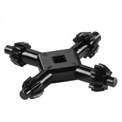 Clé mandrin porteur à clé cylindrique WOLFCRAFT, Diam.7 mm de marque WOLFCRAFT, référence: B5792800