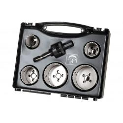 Coffret trépans electricité et plomberie multimatériau, Diam.68 mm WOLFCRAFT de marque WOLFCRAFT, référence: B5796900