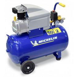 Compresseur d'atelier MICHELIN 50 l 2 cv MB50 230 V de marque MICHELIN, référence: B5802300