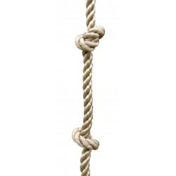 Corde à noeuds en chanvre TRIGANO de marque Trigano, référence: B5802700