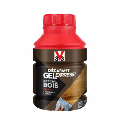 Décapant bois V33 Gel express, 0.25 l de marque V33, référence: B5815400