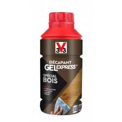 Décapant bois V33 Gel express, 0.5 l de marque V33, référence: B5815500