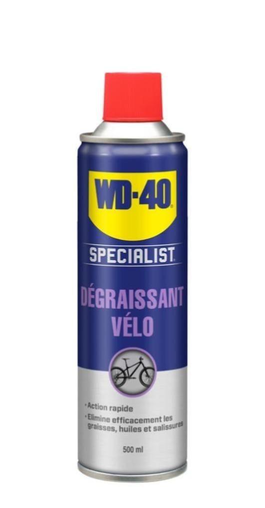 Dégraissant vélo WD-40, 500 ml